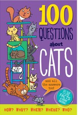 Peter Pauper Press 100 QUESTIONS ABOUT CATS