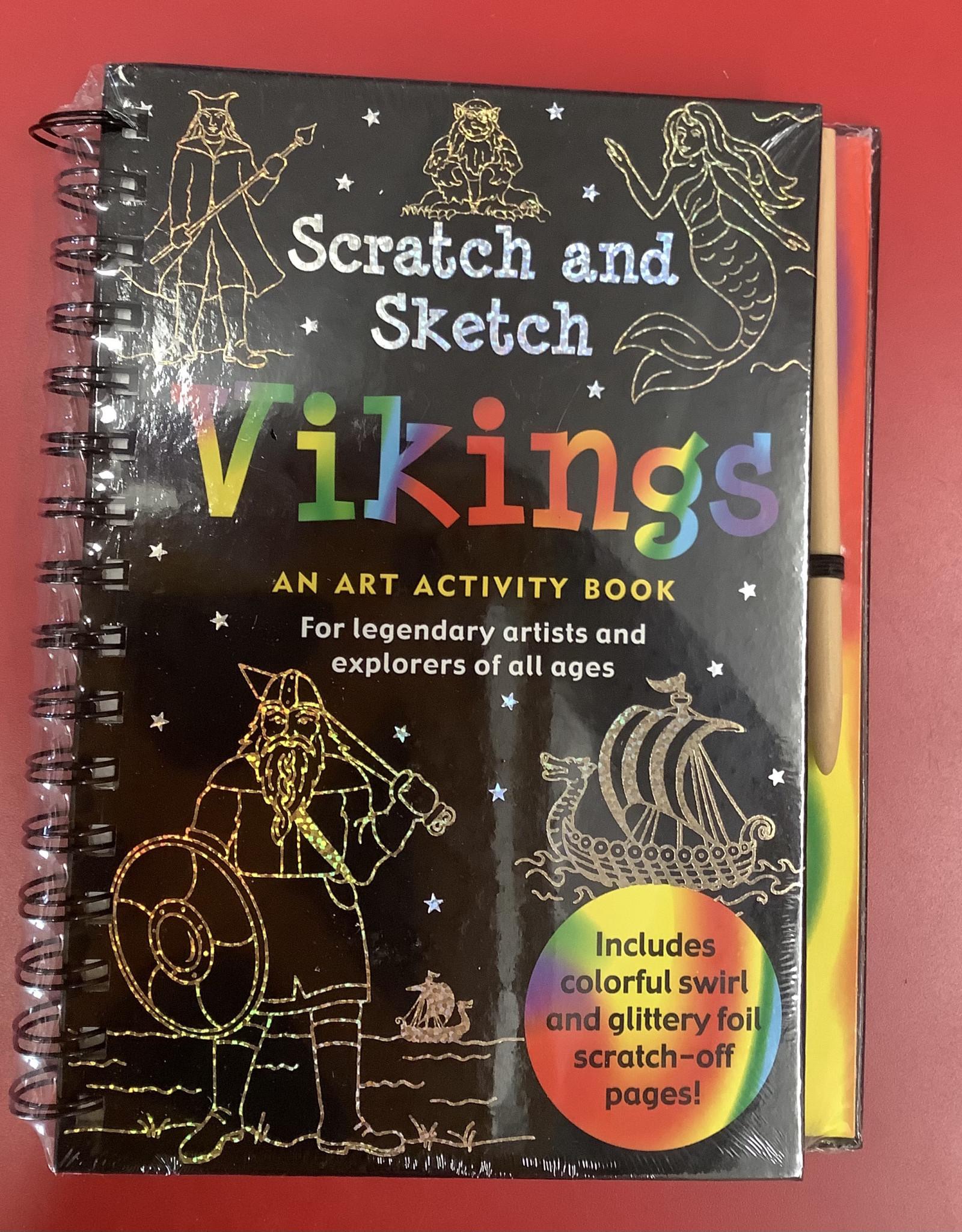 Peter Pauper Press LTP Scratch & Sketch Vikings