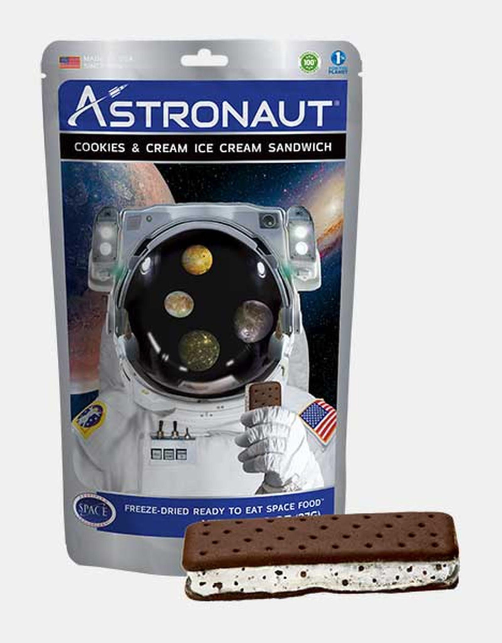 Astronaut Ice Cream - Cookies & Cream Sandwich