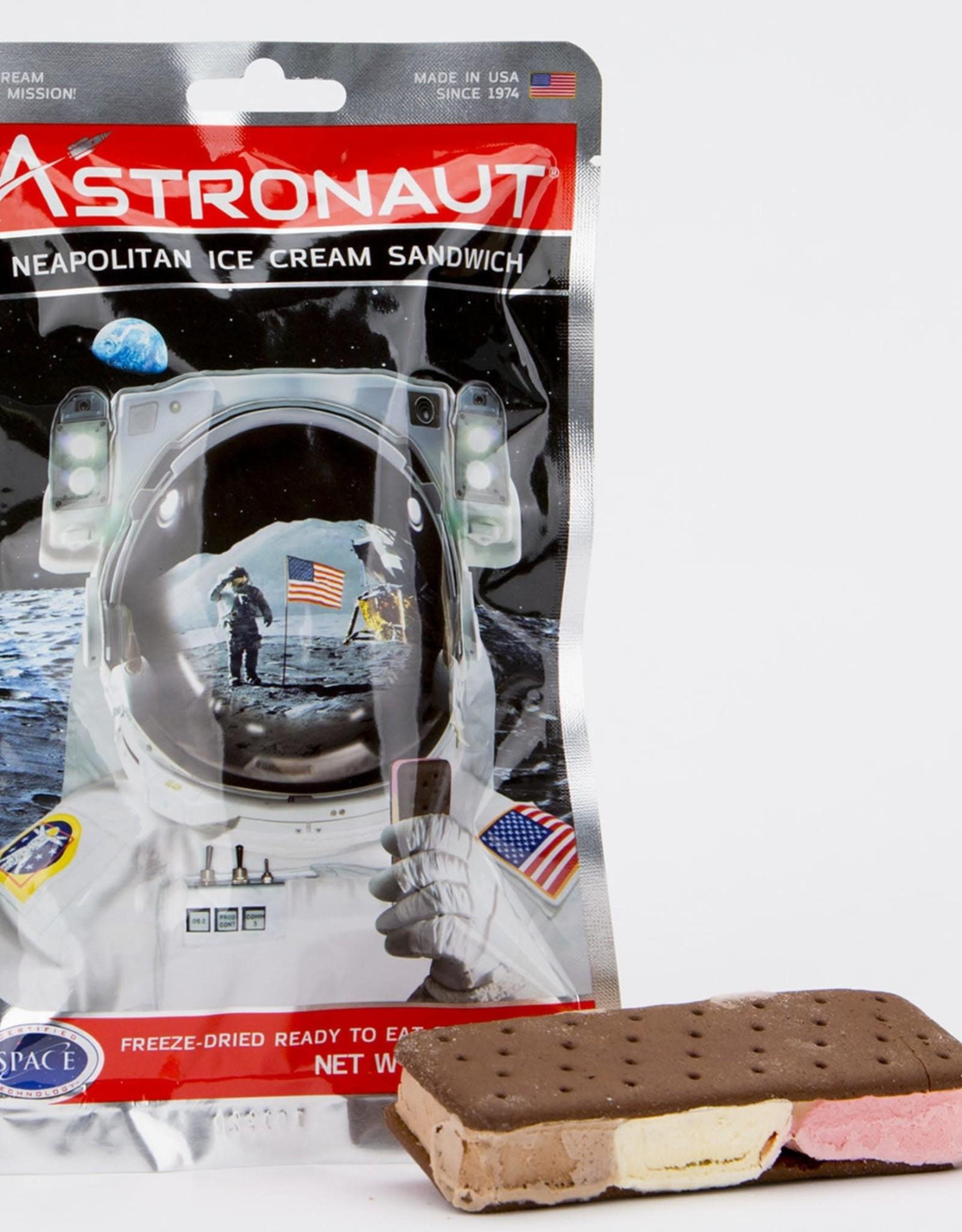 Astronaut Ice Cream - Neapolitan Sandwich