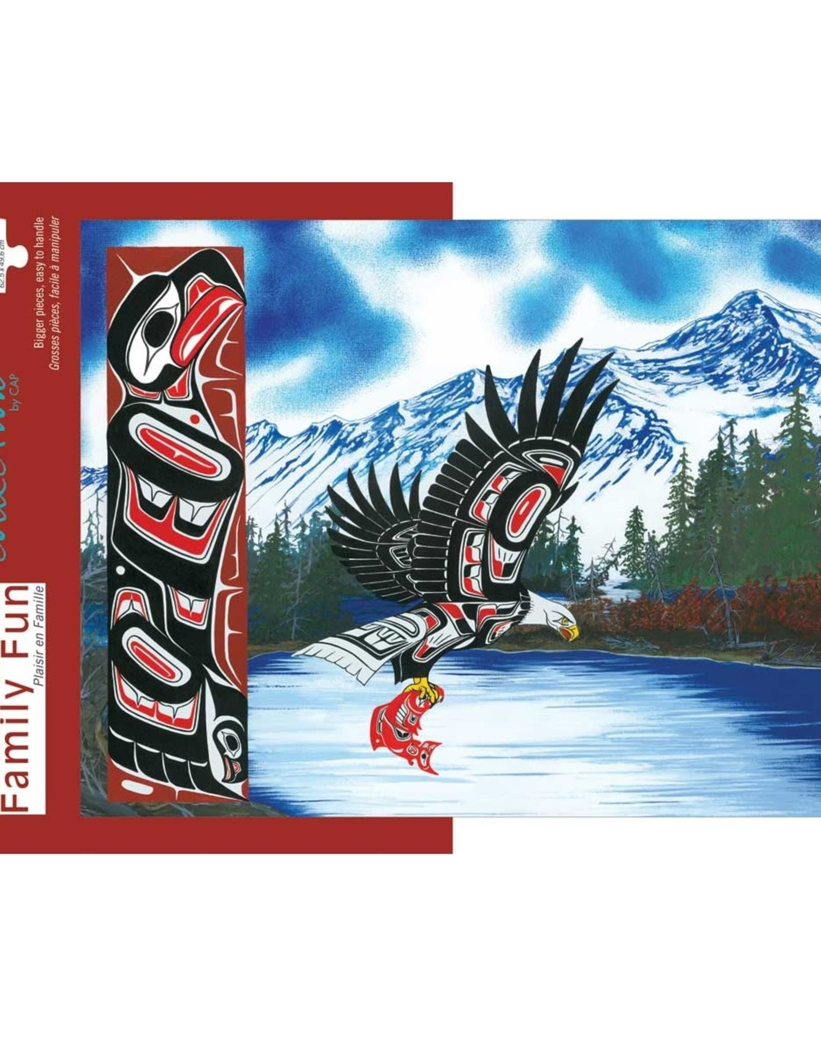 Indigenous Collection by CAP Blue Eagle, Large 500pc