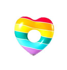 BigMouth Rainbow Heart Float