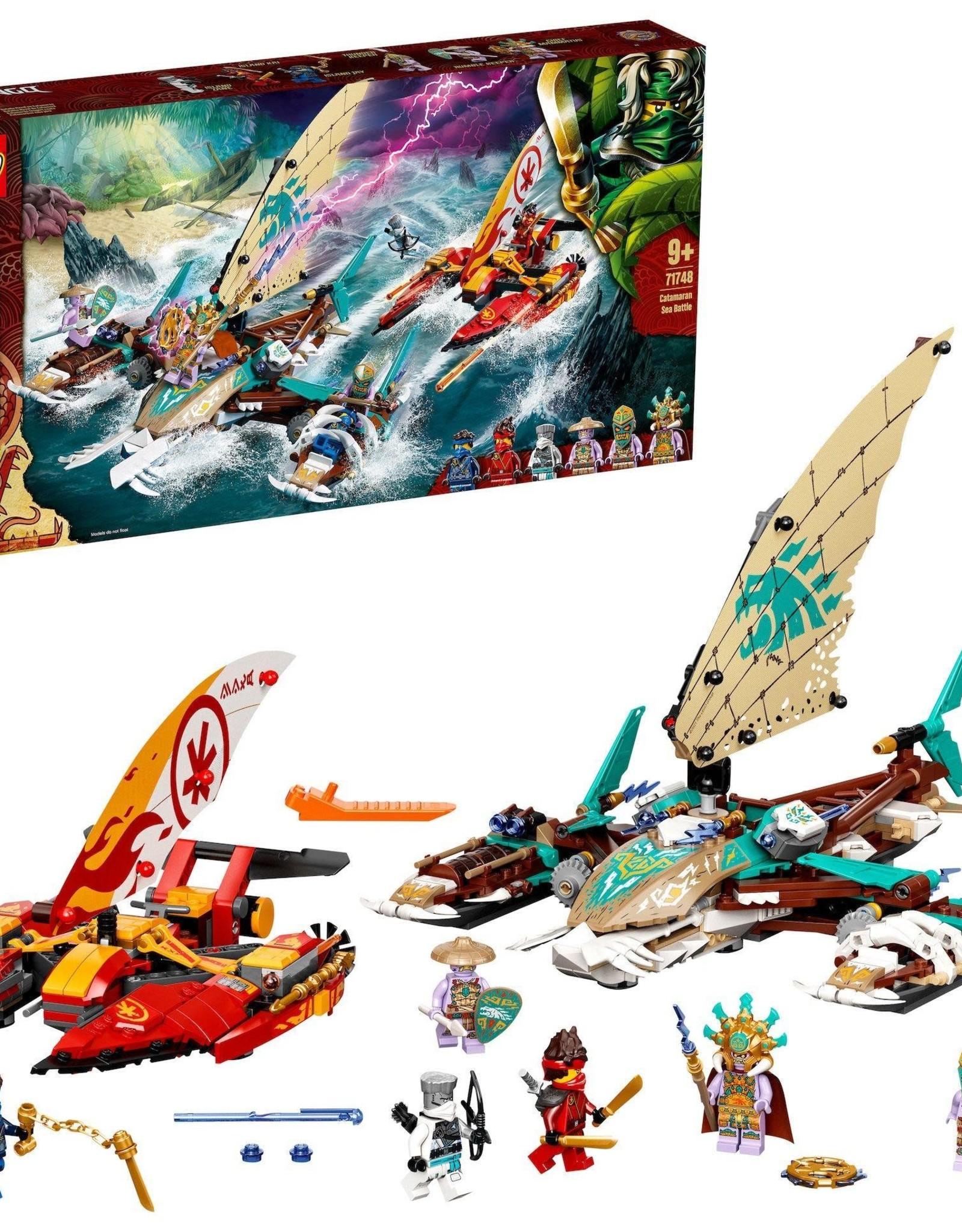 LEGO 71748 Catamaran Sea Battle