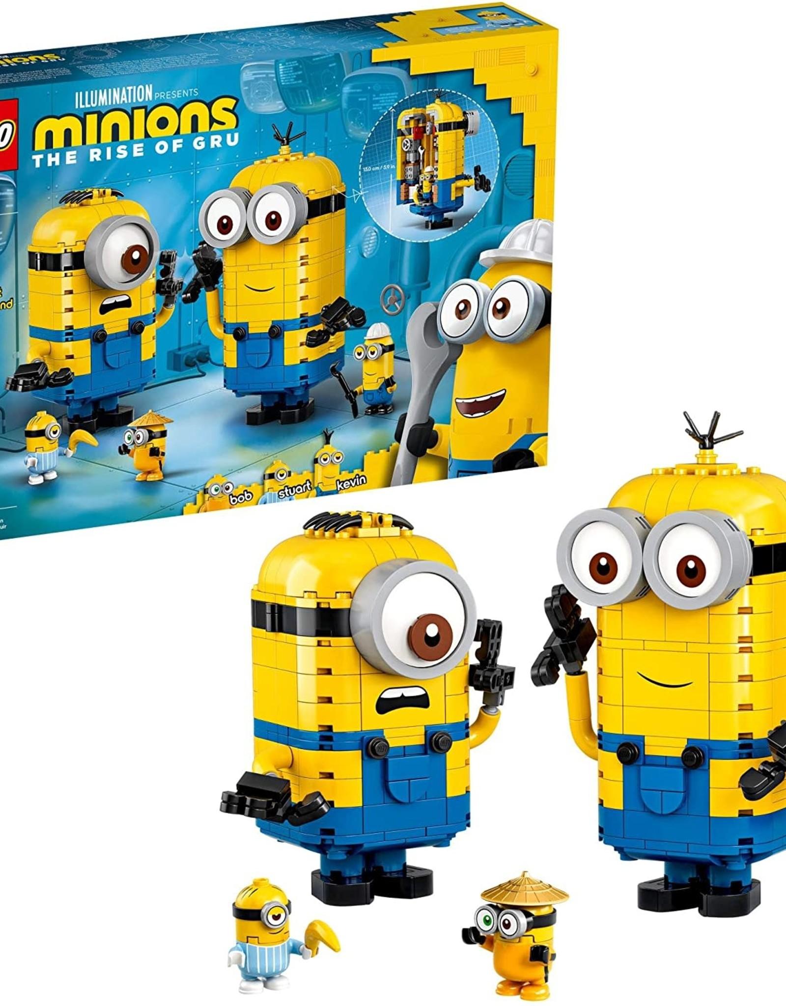 LEGO 75551 Brick-built Minions and their Lair
