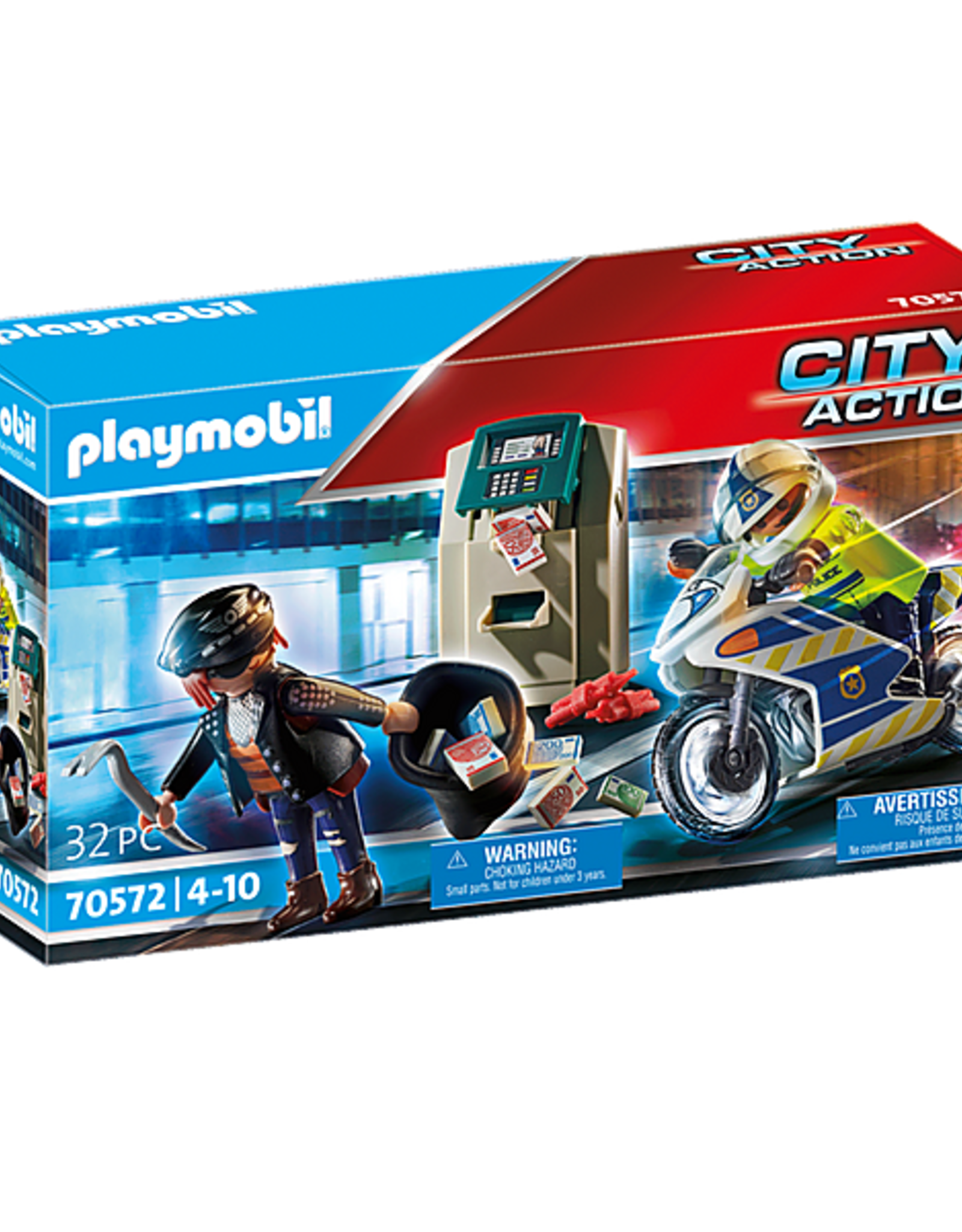 Playmobil Bank Robber Chase
