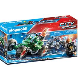 Playmobil Police Go-Kart Escape