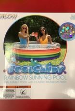 Pool Candy LTP Rainbow Glitter Sunning Pool
