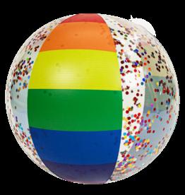 Pool Candy Rainbow Haze Jumbo Glitter Beach Ball
