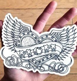 Crystal Salamon Colouring Sticker-Mom Tattoo