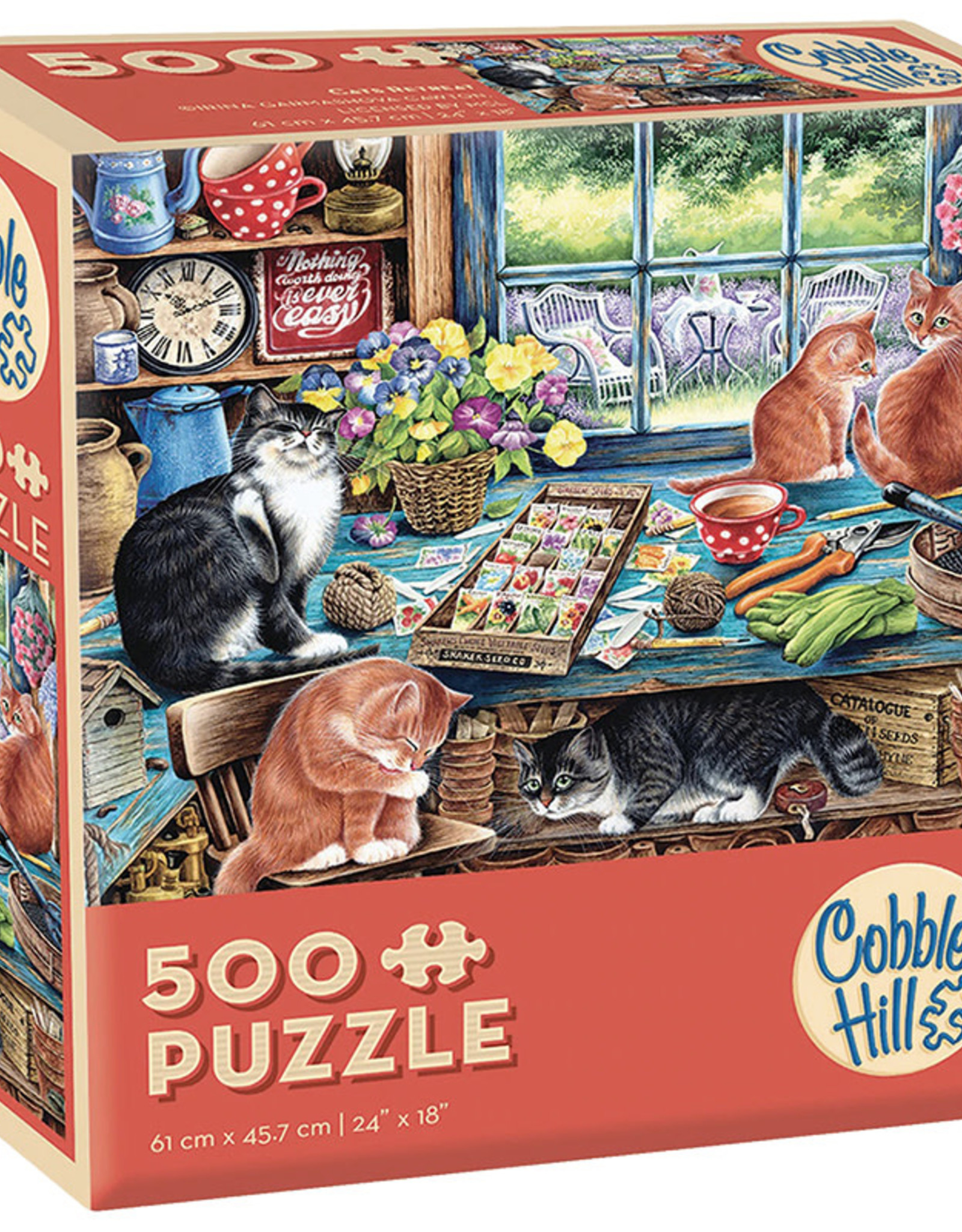 Cobble Hill Cats Retreat 1000pc