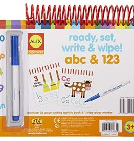 Alex Discover Ready Set Write And Wipe! ABC and 123