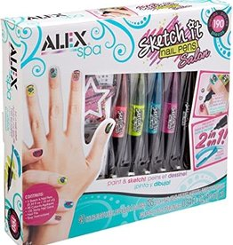 Alex Glow Sketch it Nail Pens
