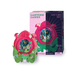 Bright Stripes Lantern Lands - Fairy Flower Party