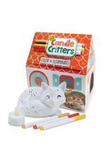 Bright Stripes LED Candle Critters - Fox