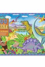 eeBoo AGE OF THE DINOSAUR 100PC PUZZLE