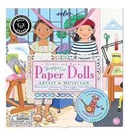 eeBoo Paper Doll: Artist & Musician