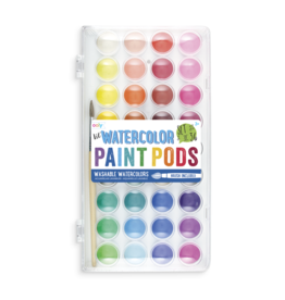 OOLY LIL PAINT PODS WATERCOLOR - SET OF 36