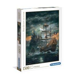 Clementoni 1500PC HQC -  THE PIRATES SHIP