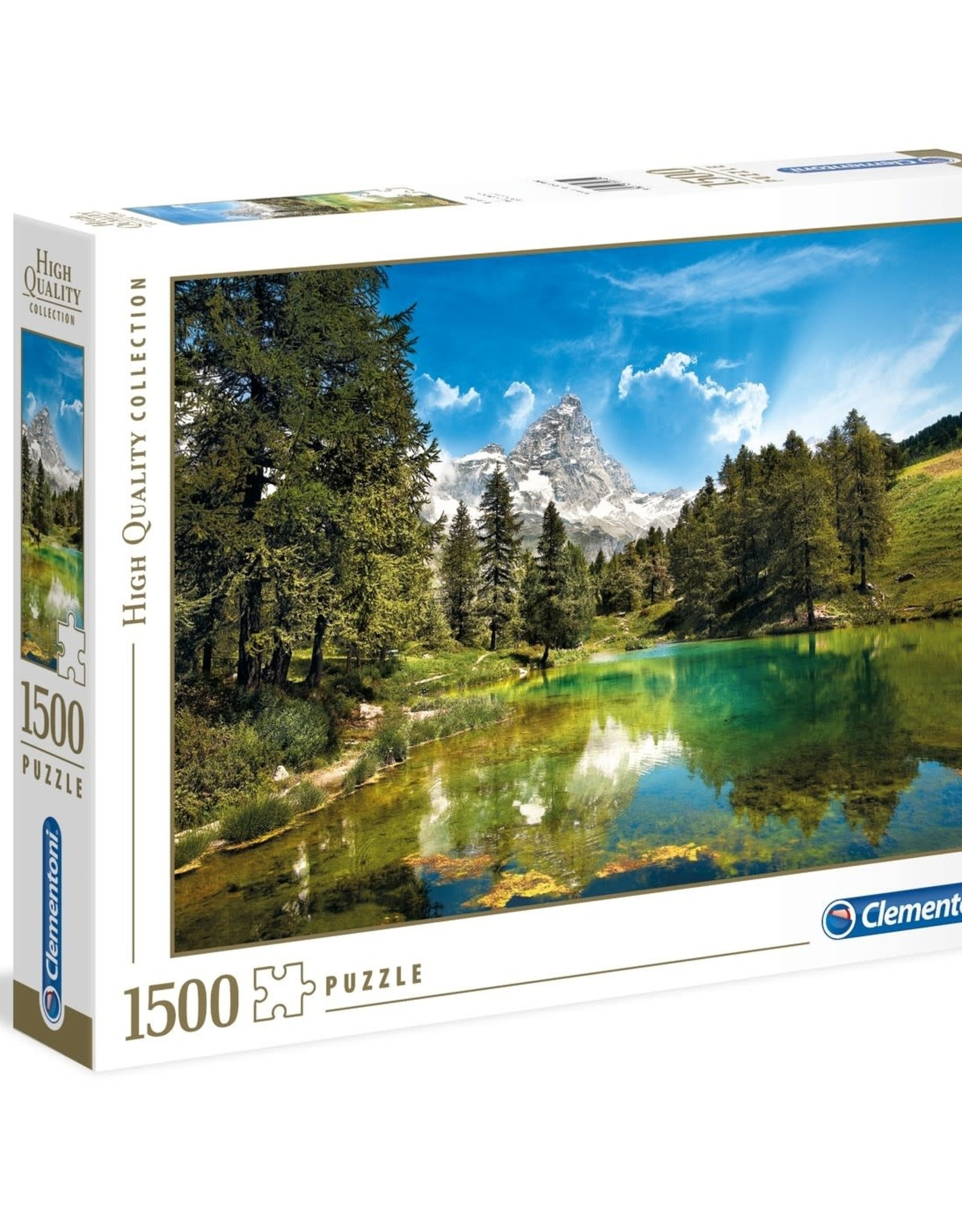 Clementoni 1500PC HQC -  BLUE LAKE