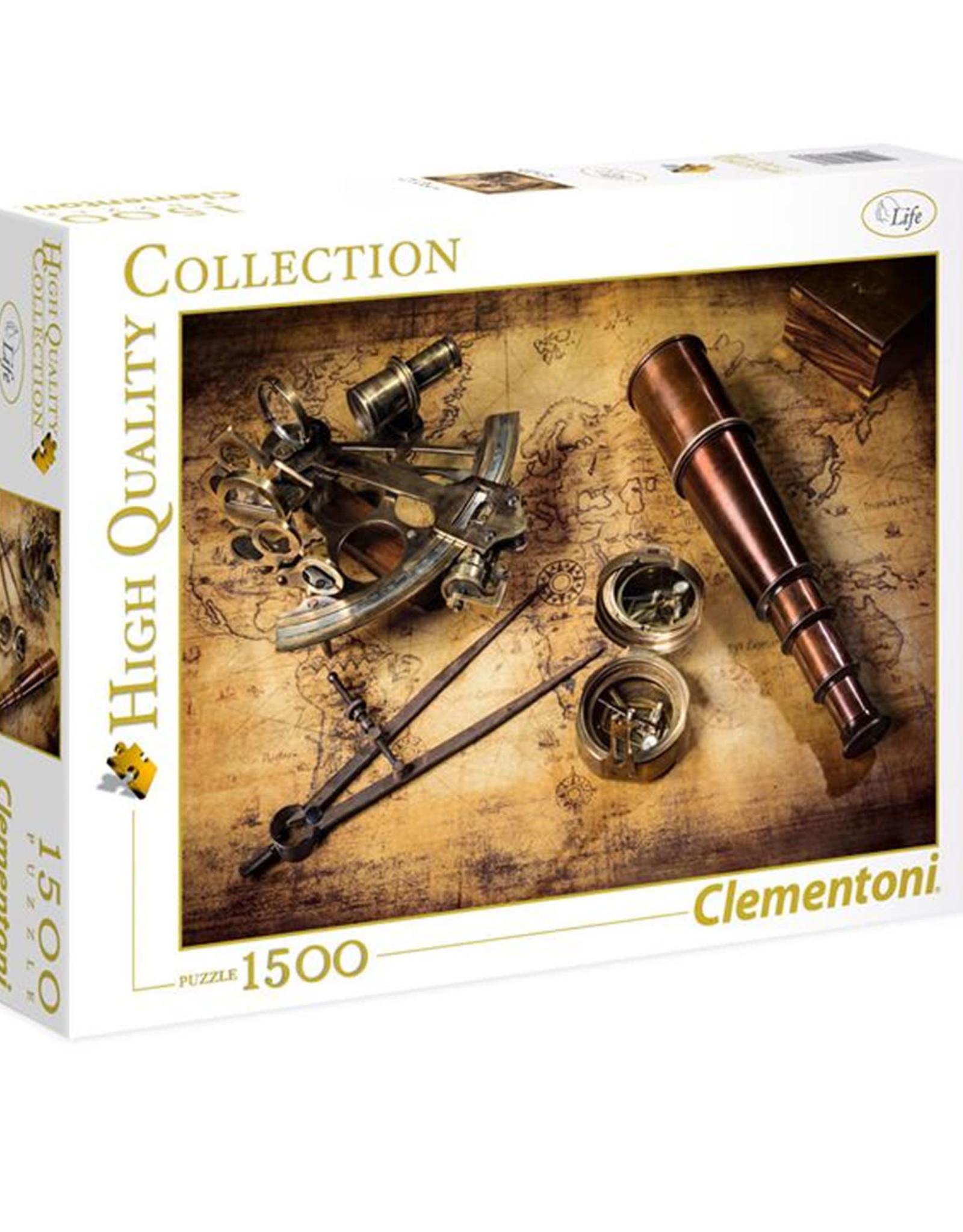 Clementoni 1500PC HQC -  COURSE TO THE TREASURE