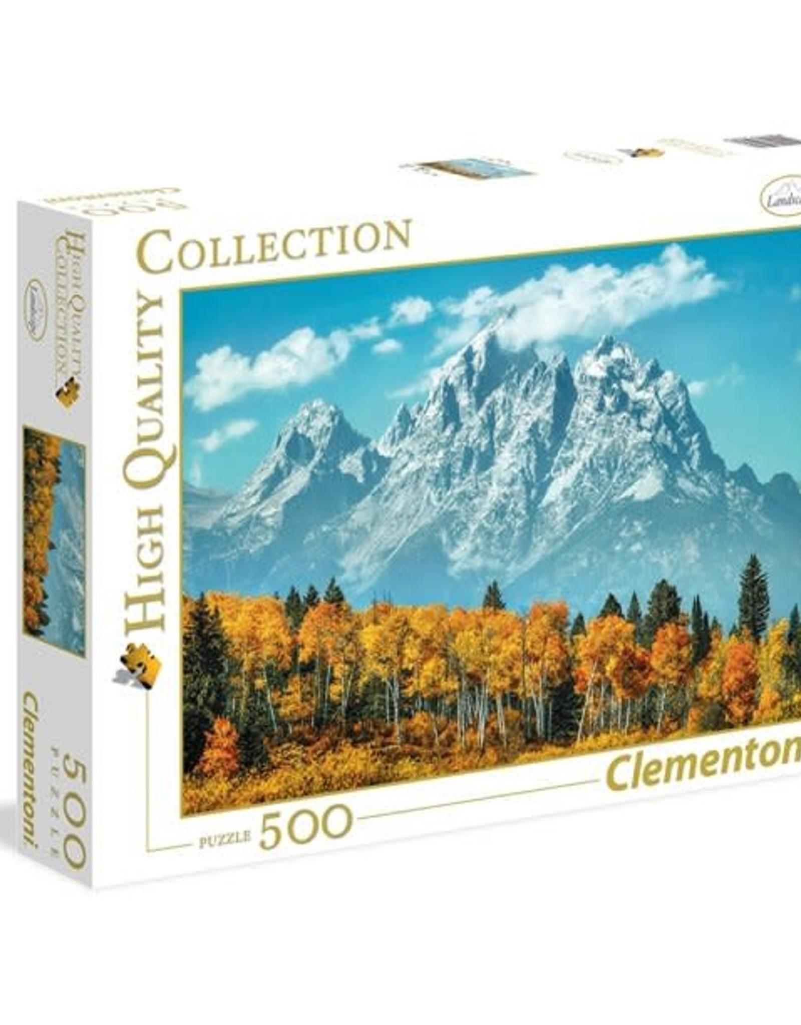 Clementoni 500PC HQC -GRAND TETON IN FALL