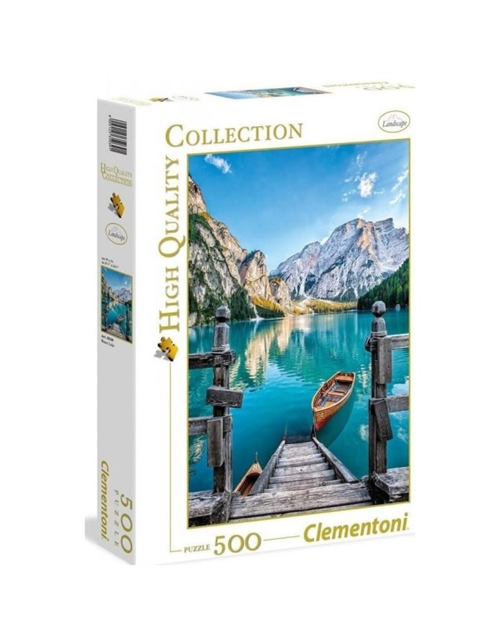 Clementoni 500PC HQC - BRAIES LAKE