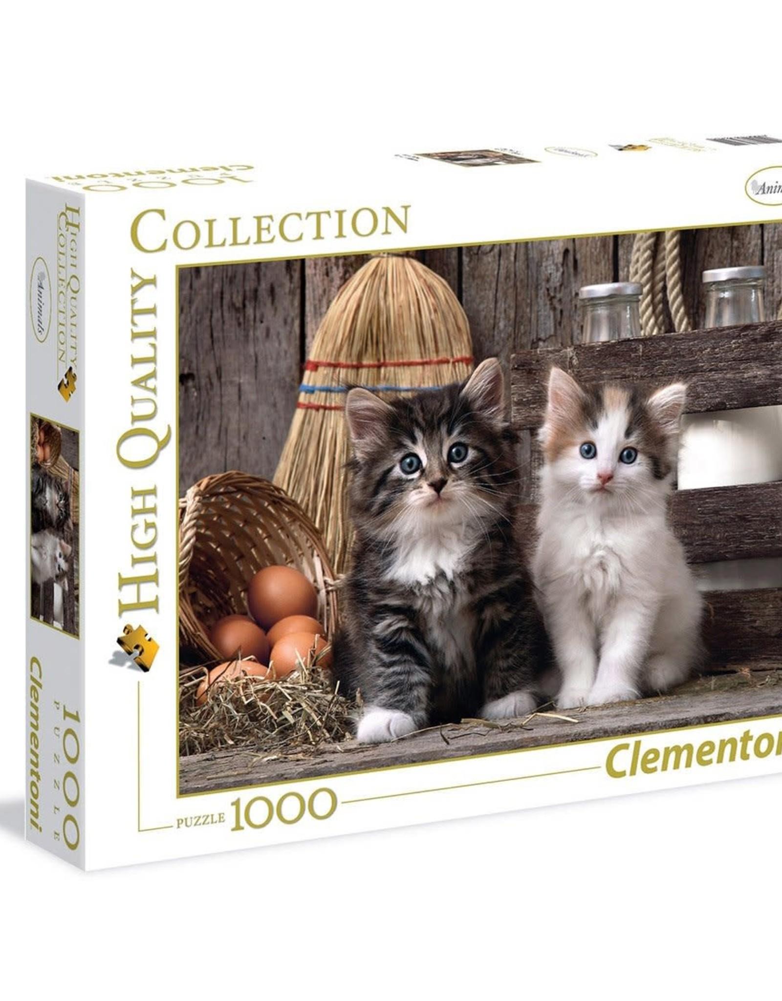 Clementoni 1000PC HQC - LOVELY KITTENS
