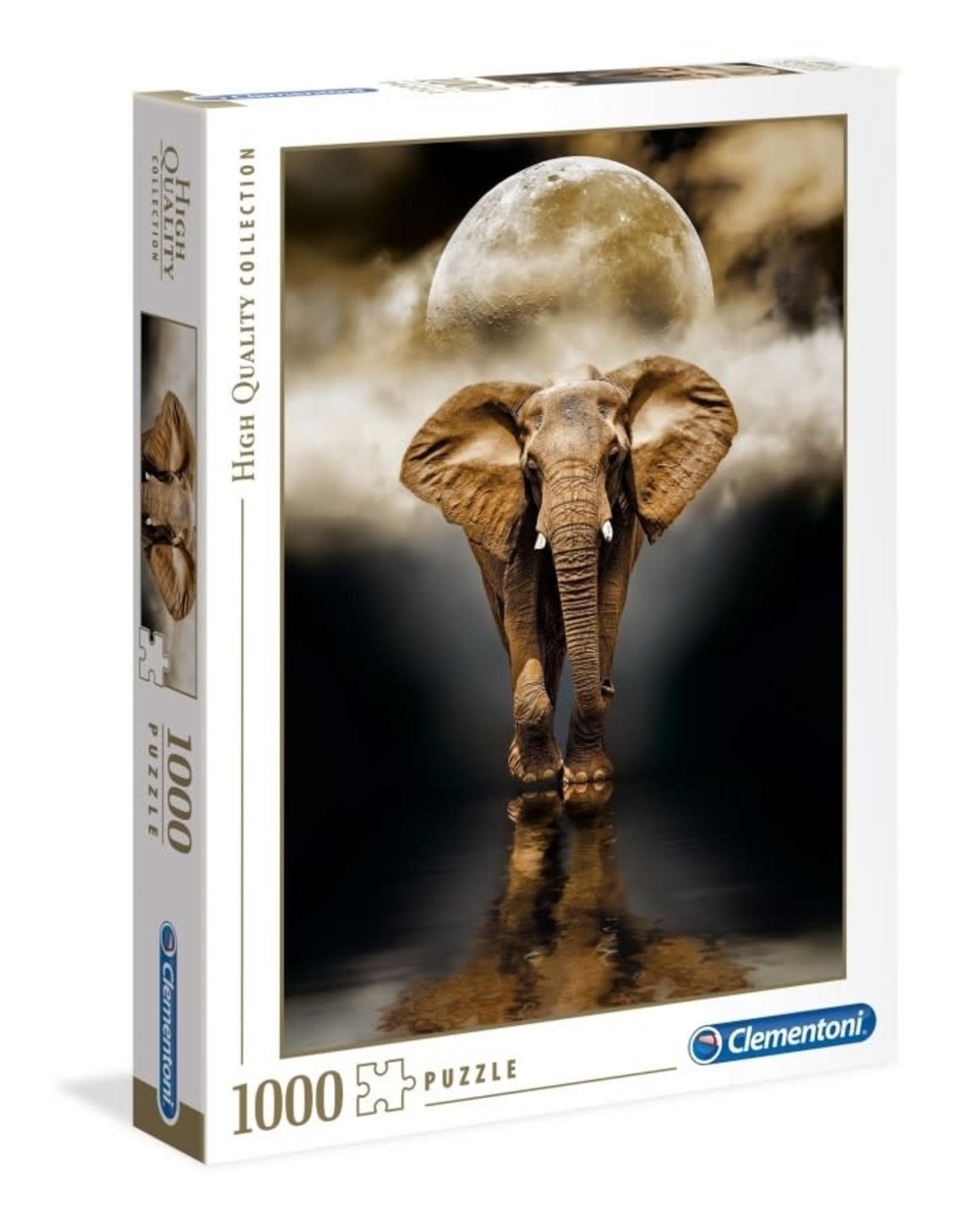 Clementoni 1000PC HQC - THE ELEPHANT