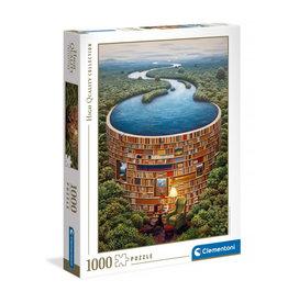 Clementoni 1000PC HQC - BIBLIODAME