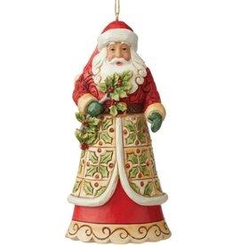 Jim Shore H/O Santa With Holly