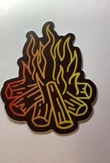 Stickers NW Camp Fire Sticker
