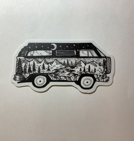 Stickers NW Bus Scene Sticker