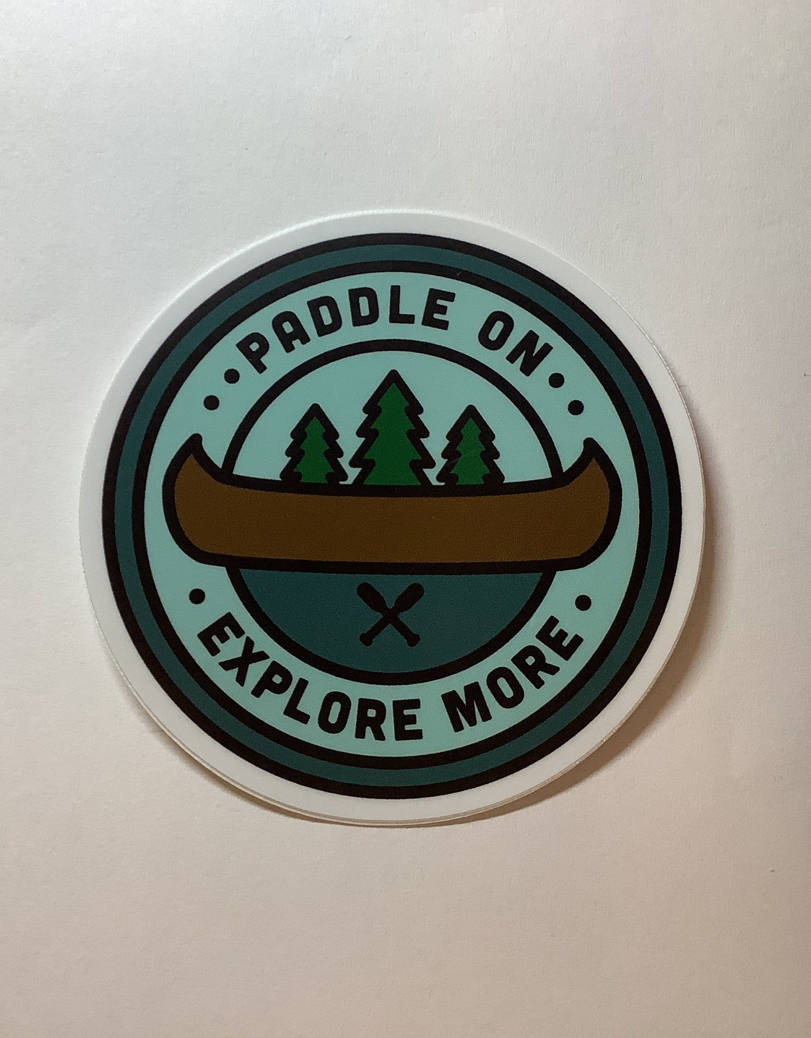 Stickers NW Canoe Sticker