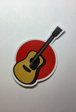 Stickers NW Aucoustic Guitar Sticker