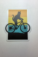Stickers NW Bicycle Cat Sticker