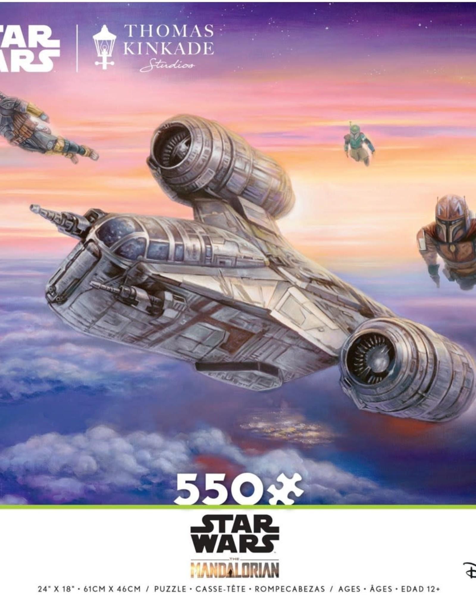 Ceaco 550PC THOMAS KINKADE/STAR WARS MANDALORIAN-THE ESCORT