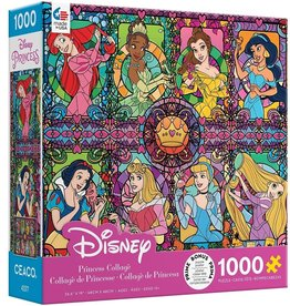 Ceaco 1000PC DISNEY PRINCESS SERIES 5-STAINED GLASS