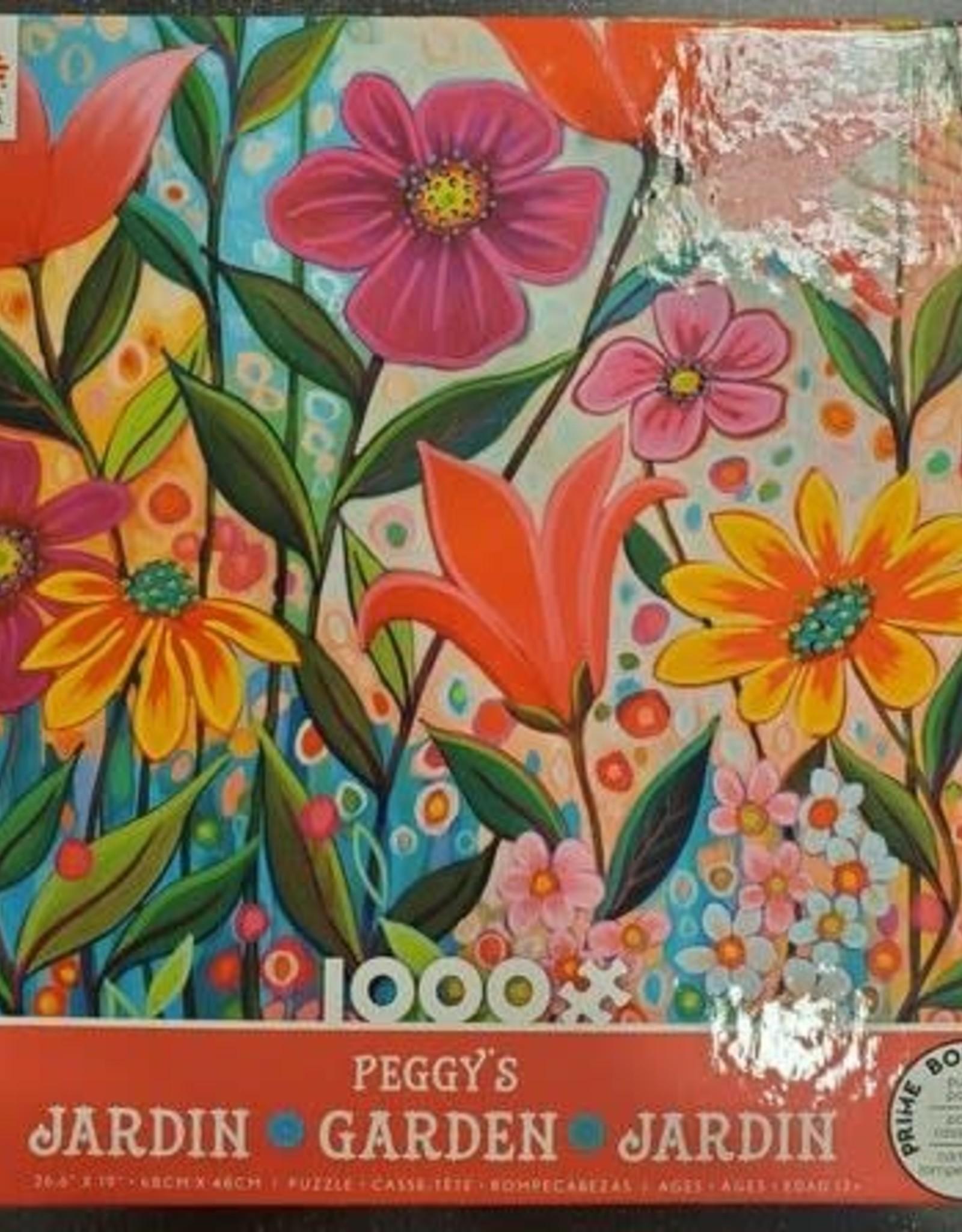 Ceaco 1000PC PEGGY'S GARDEN-RED BOX