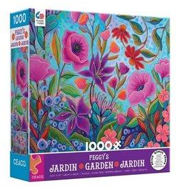 Ceaco 1000PC PEGGY'S GARDEN-PURPLE BOX