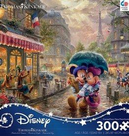 Ceaco 300PC THOMAS KINKADE  FINE ART-MICKEY AND MINNIE IN PARIS