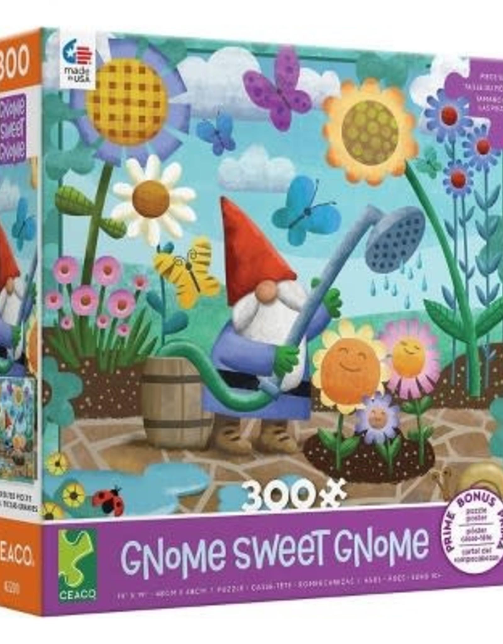 Ceaco 300PC OVERSIZED GNOMES-PURPLE BOX