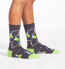 Sock It To Me Junior Crew: Laboratory
