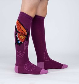 Sock It To Me Junior Knee High: The Monarch