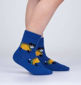 Sock It To Me Toddler Crew: Let's Taco 'bout Cats