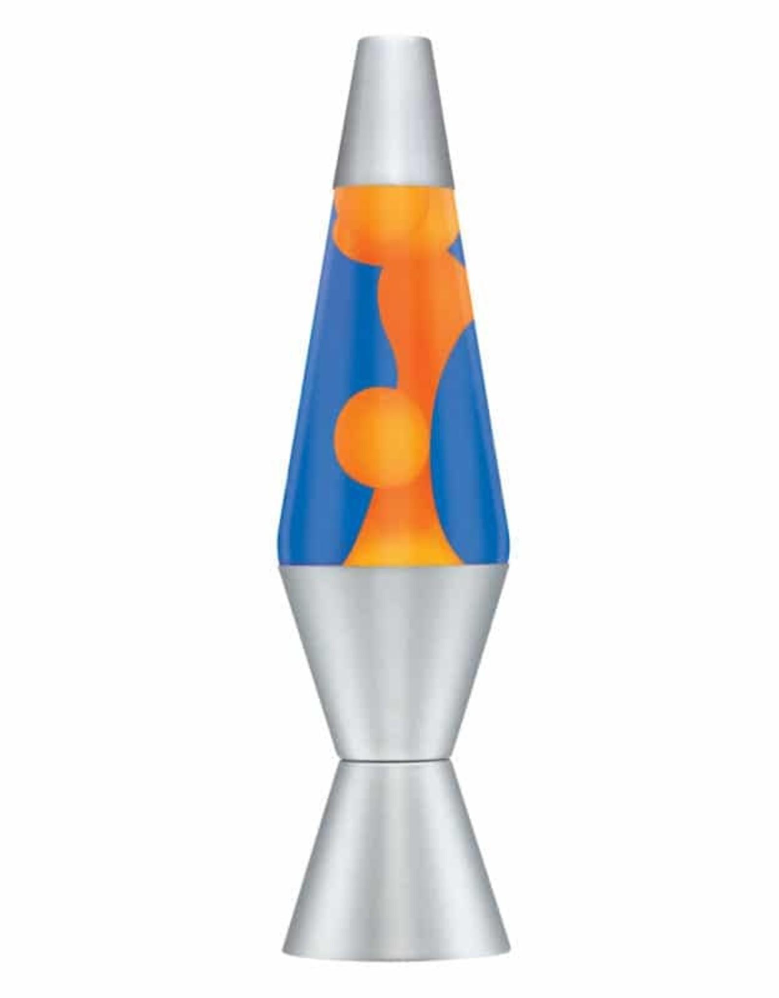 Lava Lamp 14.5'' Lava Lamp - ORANGE/BLUE/SILVER