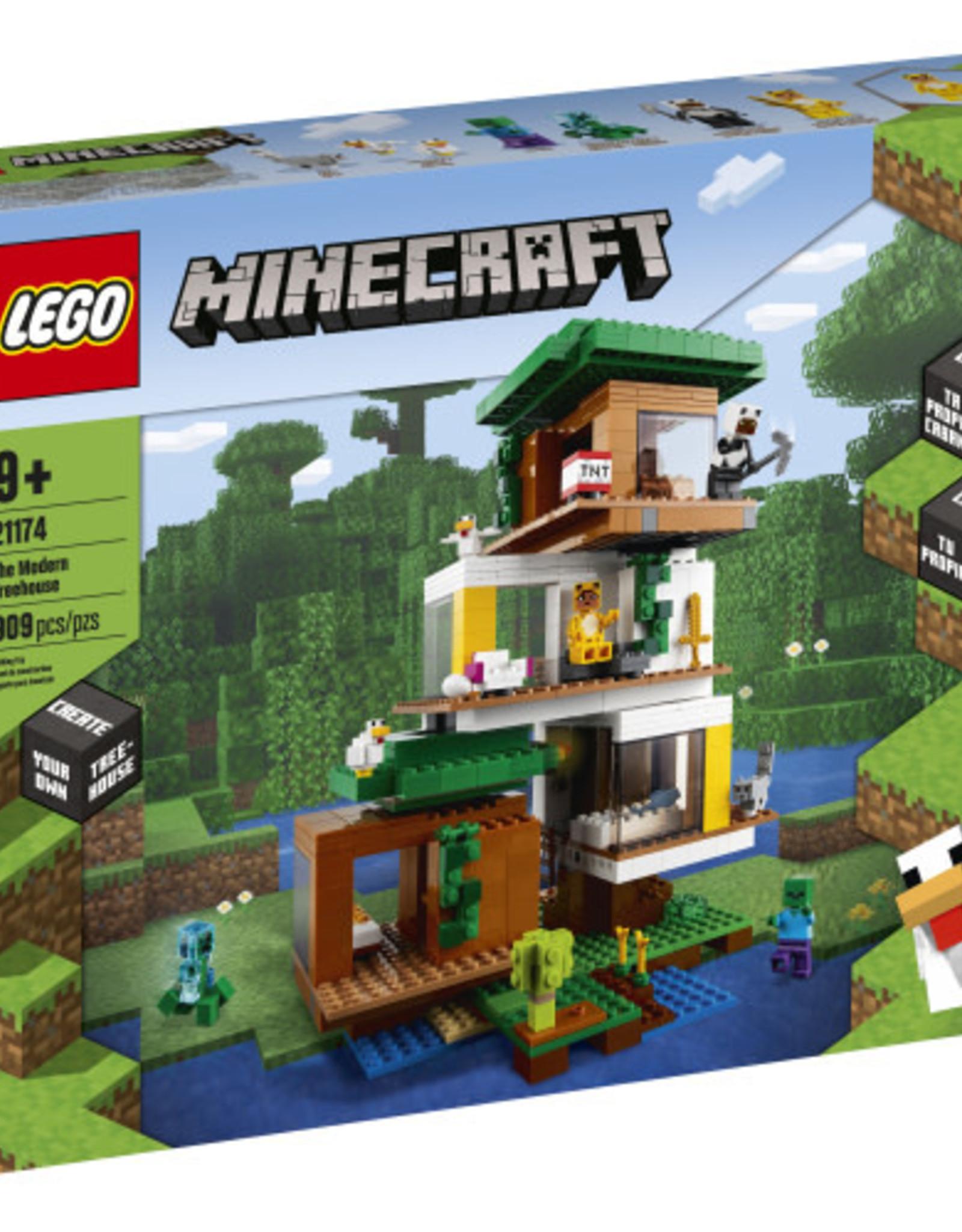 LEGO 21174 The Modern Treehouse V39