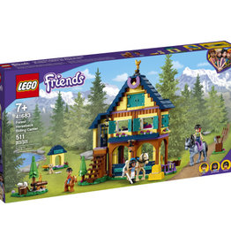 LEGO 41683 Forest Horseback Riding Center V39