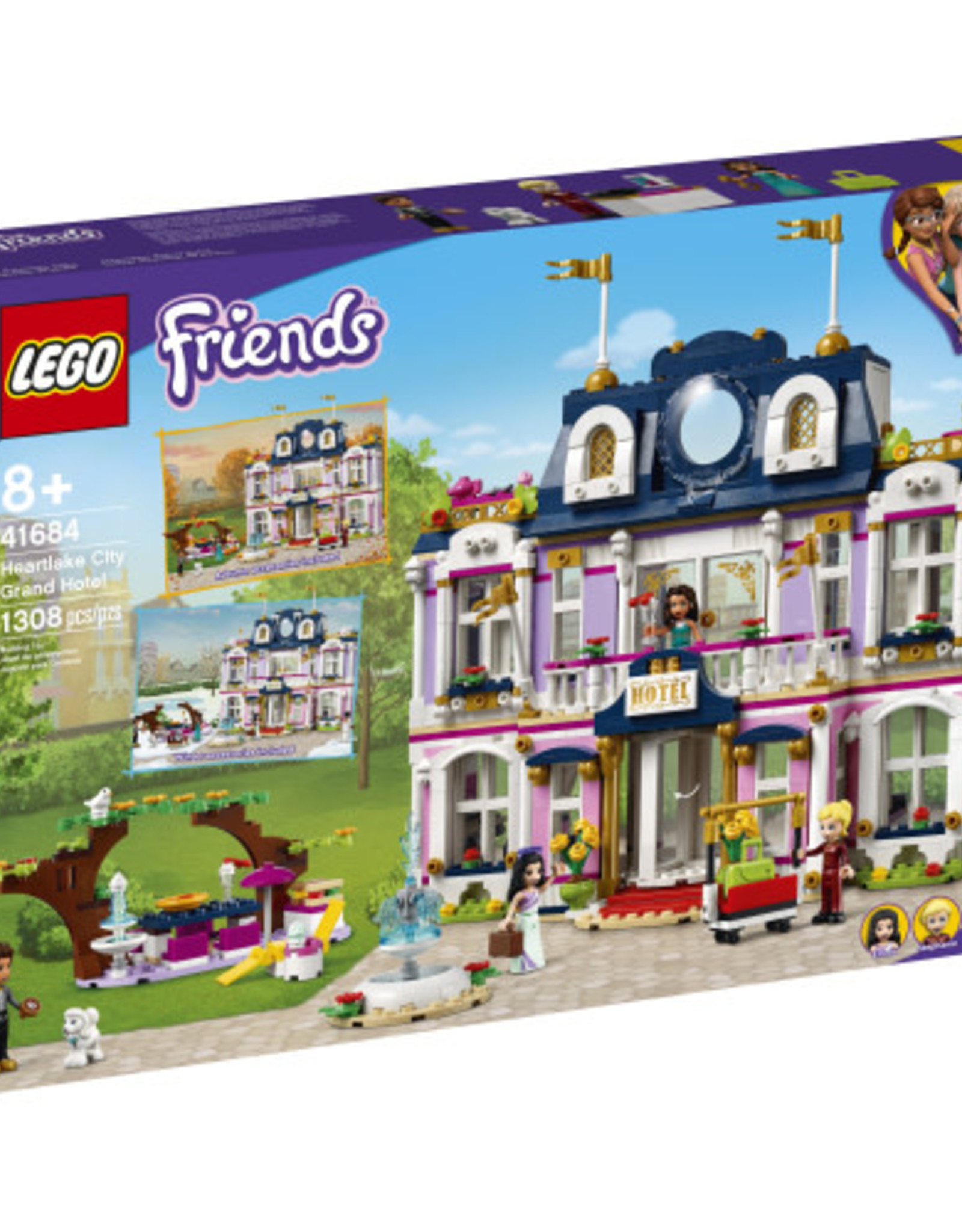 LEGO 41684 Heartlake City Grand Hotel V39