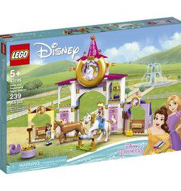 LEGO 43195 Belle and Rapunzel's Royal Stables V39