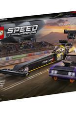 LEGO 76904 Mopar Dodge//SRT Top Fuel Dragster and 1970 Dodge Challenger T/A V39